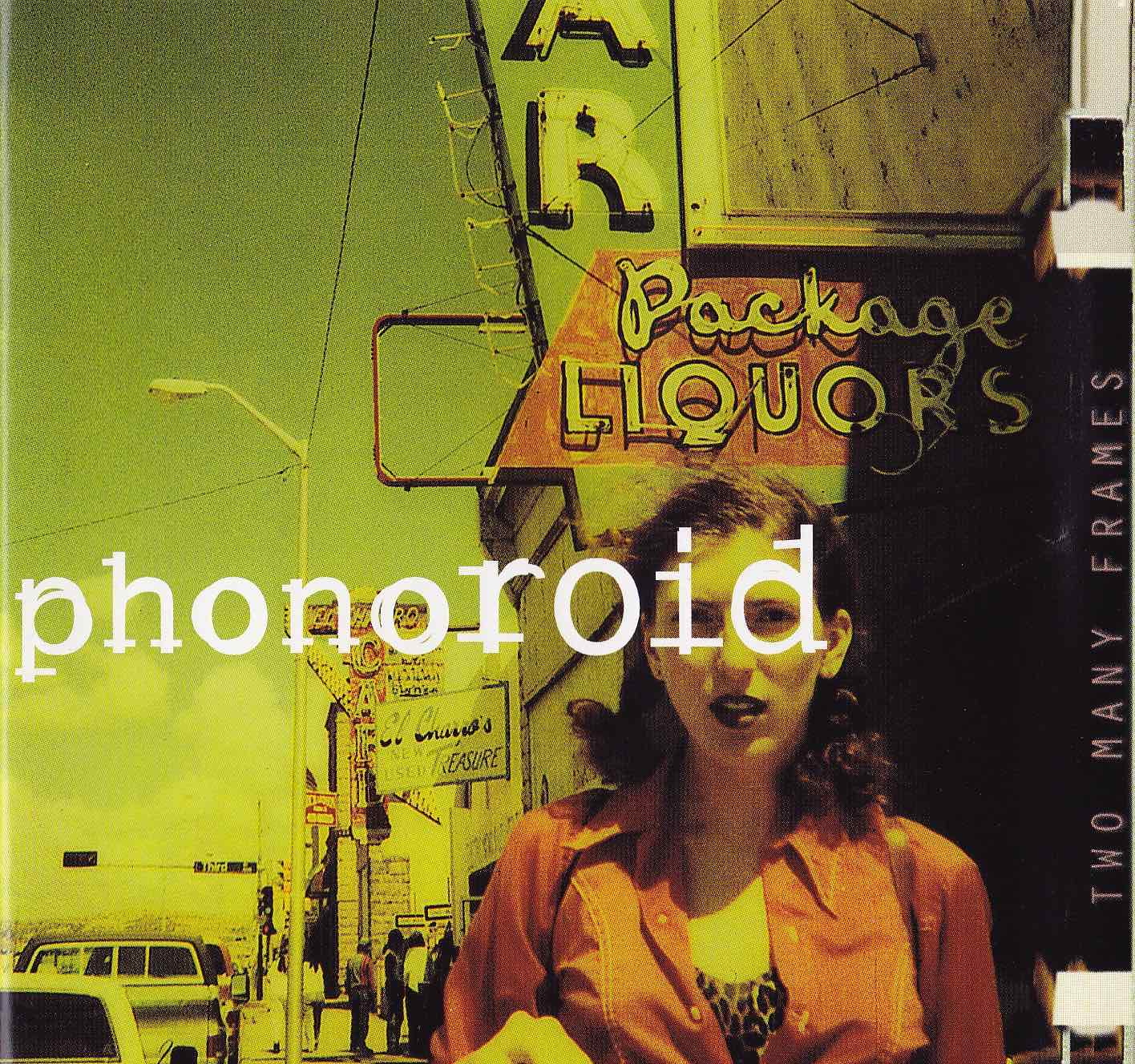 cover of phonoroid - two many frames album